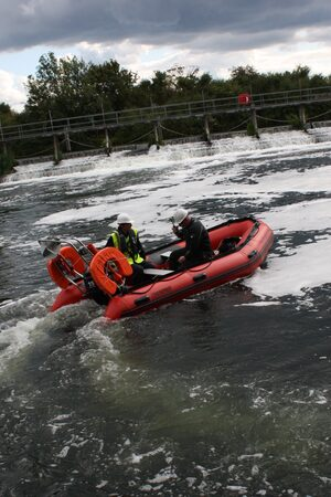 Safety Boat Hire London - Work boats - Rescue RIBs