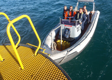 Safety Boat Hire - Work Boat Leasing - Rescue RIBs