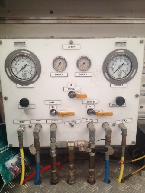 Used LP 2 Diver Panel For Sale